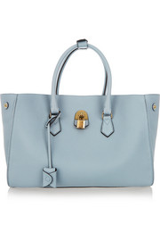 Mallet & Co Zeus textured-leather tote
