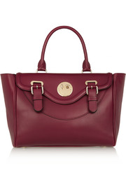 Happy Satchel leather tote