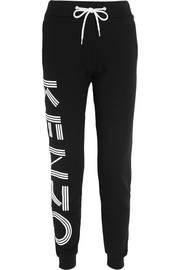 KENZO Printed cotton track pants