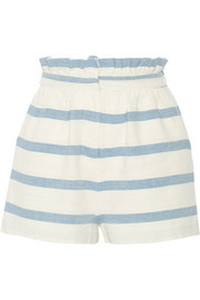 Mara Hoffman Striped cotton shorts