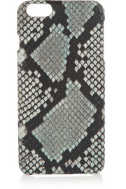 Python-effect leather iPhone 6 Plus case