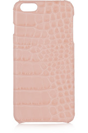 The Case Factory Croc-effect leather iPhone 6 Plus case