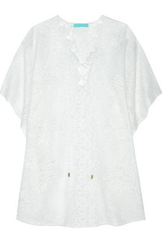 Kate cotton-blend lace kaftan