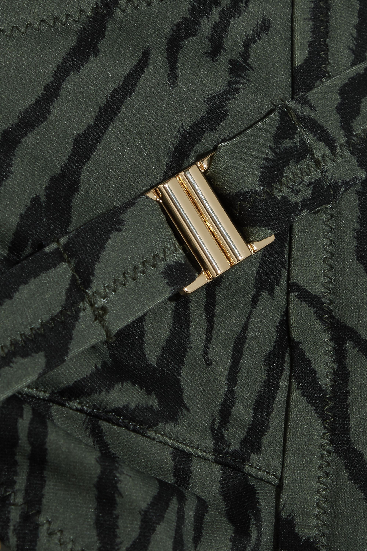 Melissa Odabash Laos tiger-print triangle bikini