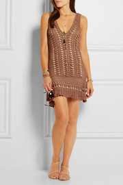 Alexis crocheted cotton dress