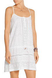 Melissa Odabash Melly broderie anglaise cotton dress