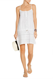 Melly broderie anglaise cotton dress