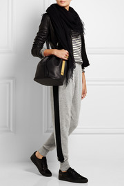 Markus Lupfer Wool and cashmere-blend track pants