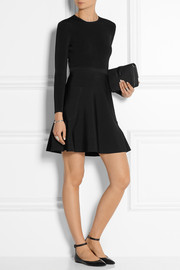 Victoria, Victoria Beckham Stretch-knit mini dress