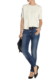 Superskinny mid-rise jeans