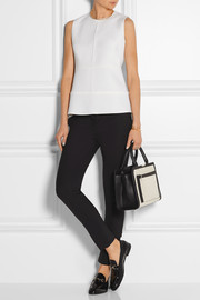 Victoria, Victoria Beckham Pintucked wool top
