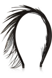 Lisbeth feather headband