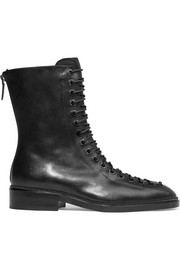 Ranita boots in black leather