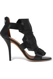 Rojda sandals in black leather