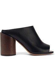 Ramia leather mules