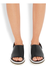 Givenchy Rachel espadrille sandals in black leather