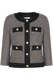 Cotton-blend tweed jacket