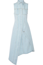 Carda asymmetric denim dress