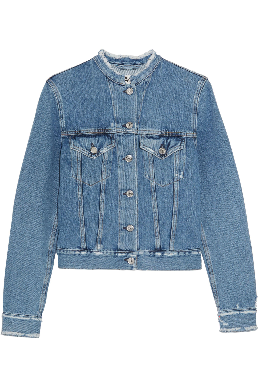 Acne Studios Distressed denim jacket