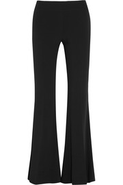 Mello stretch-crepe flared pants