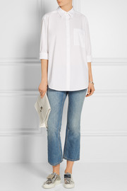 Acne Studios Addle oversized cotton-poplin shirt