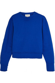 Galatea cotton-blend jersey sweatshirt
