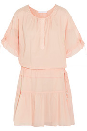 See by Chloé Cotton-gauze mini dress