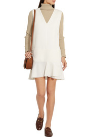 See by Chloé Stretch-crepe mini dress