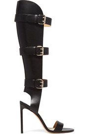 Francesco Russo Buckled leather sandals