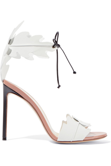Francesco Russo - Leather Sandals - White