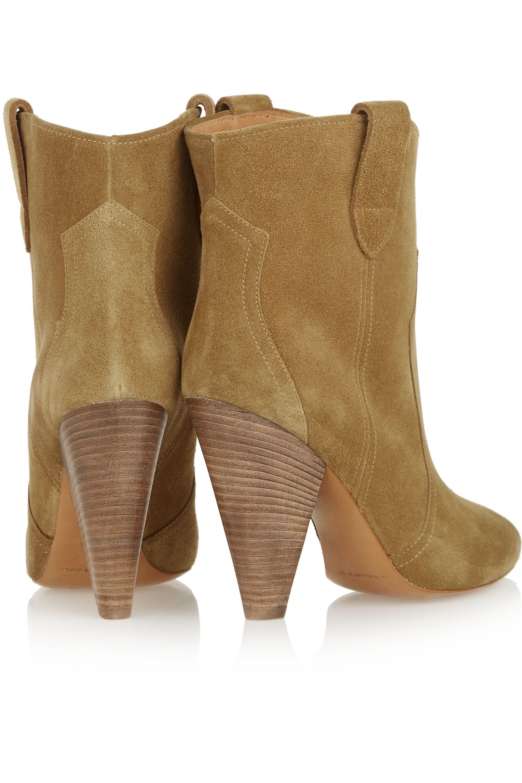 Isabel Marant Étoile Roxann suede ankle boots