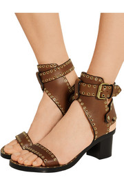 Jaeryn embellished leather sandals