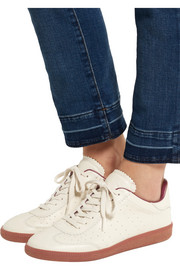 Isabel Marant Étoile Bryce perforated leather sneakers