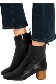 Isabel Marant Étoile Deyis textured-leather ankle boots