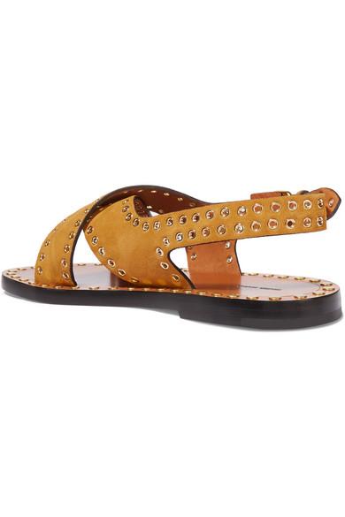 Isabel Marant Jane Crossover Sandals 2PnzrIGFn