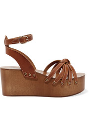 Isabel Marant Zia leather platform sandals