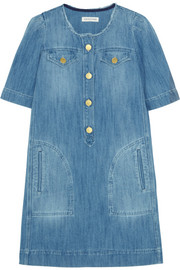 Oriane denim mini dress