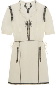 Étoile Isabel Marant Rebel embroidered cotton mini dress