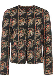 Elmer reversible floral-print quilted cotton jacket