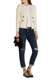 Étoile Isabel Marant Flenn stretch cotton-blend tweed jacket