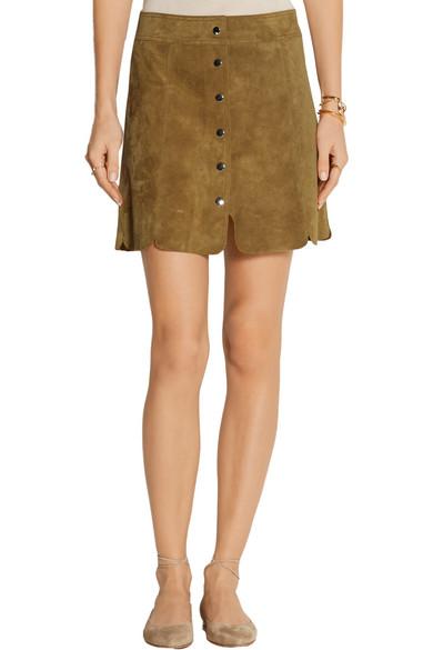 436b98baa6 Isabel Marant Étoile | Anna suede mini skirt | NET-A-PORTER.COM
