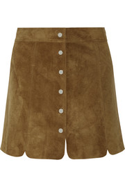 Anna suede mini skirt
