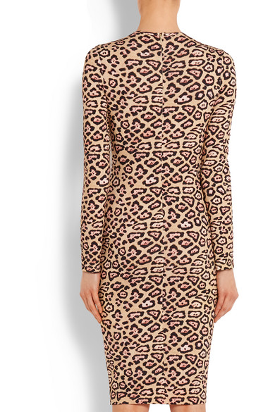 Givenchy. Dress in leopard-print stretch-jersey.  645. Play. Zoom In 24495da8a