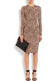 Givenchy Dress in leopard-print stretch-jersey