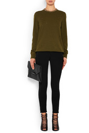 Givenchy Black skinny pants in stretch-jersey