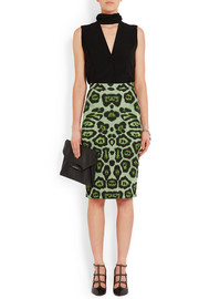 Givenchy Skirt in leopard-print stretch-jersey