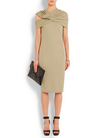 Givenchy Chain-embellished dress in beige jersey