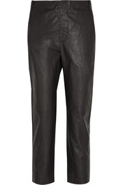 Baixa leather tapered pants