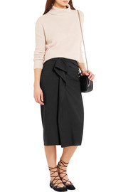 Isabel Marant Quantin ruffled stretch-crepe skirt