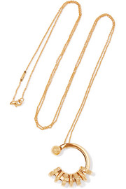 Chloé Freja gold-tone necklace